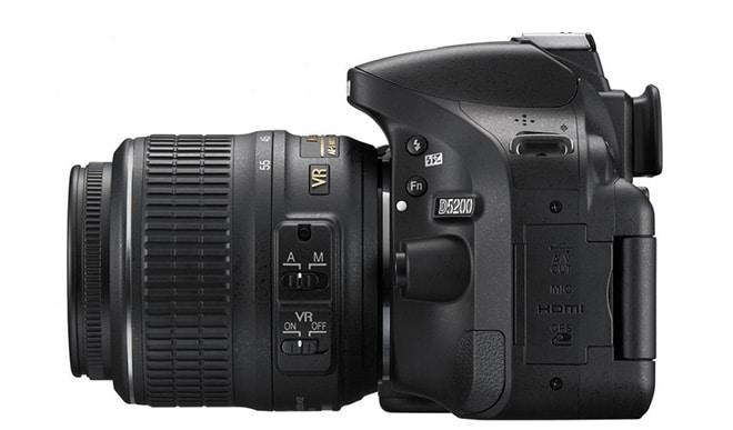 The Nikon 3200