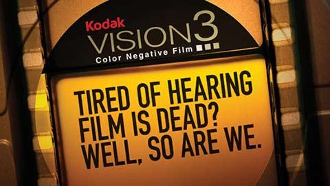 O filme negativo Kodak ainda não está morto