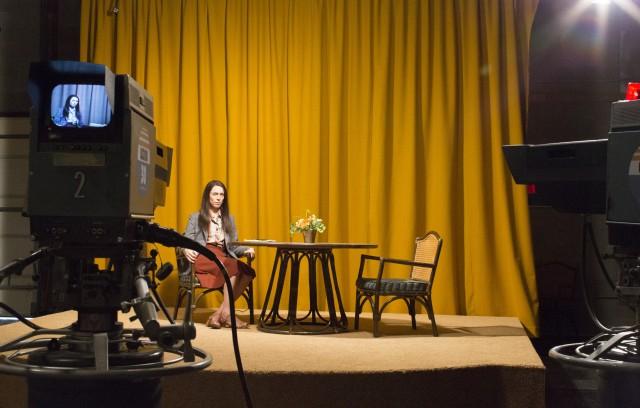 """Cena do filme """"Christine"""" do Diretor Antonio Campos e Diretor de Fotografia Joe Anderson"""