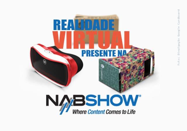 realidade virtual na NAB2016 - 2